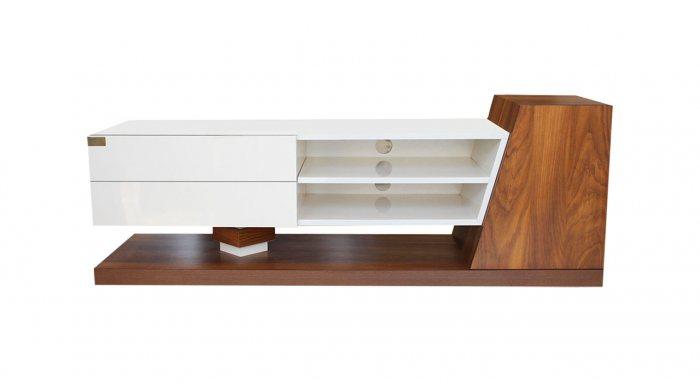 میز تلویزیون هایگلاس مدل X2