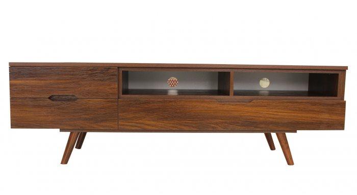 میز ال سی دی کرال استند مدل J-Emboss