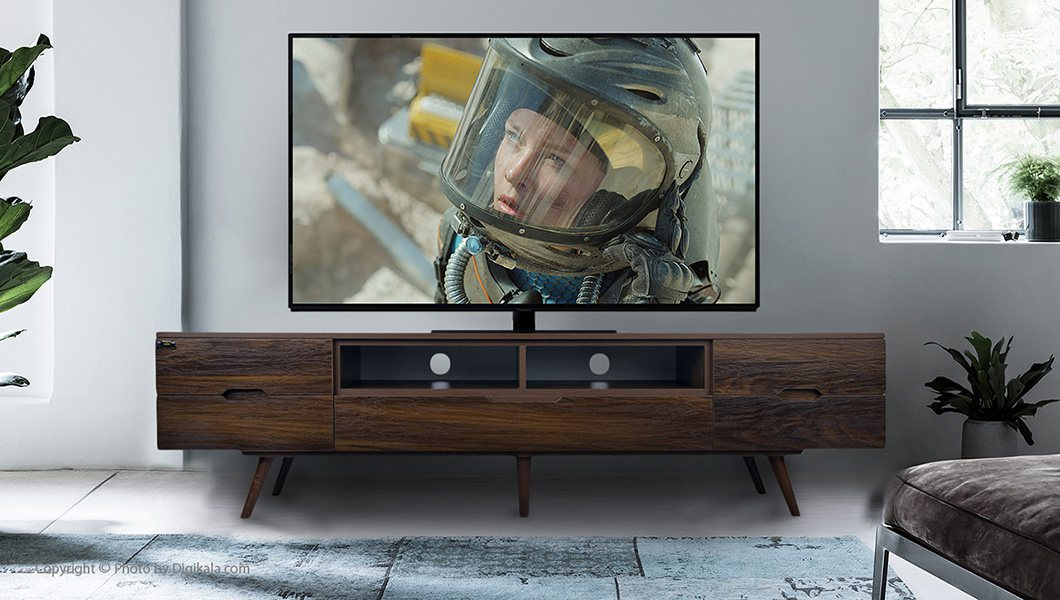 میز تلویزیون طرح چوب کرال استند