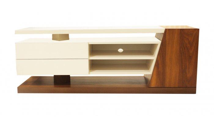 میز تلویزیون MDF هایگلاس مدل XP